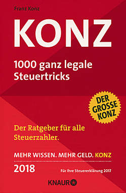 KONZ - 1000 ganz legale Steuertricks 2018