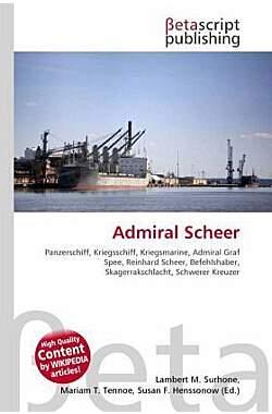 Admiral Scheer - Mängelartikel