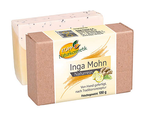 Kopp Naturkosmetik Inga Mohn Seife - vegan_small
