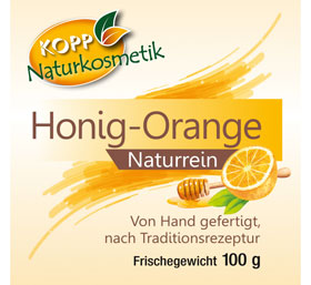 Kopp Naturkosmetik Honig-Orange Seife_small02