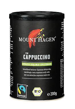 3er Pack Mount Hagen Bio Cappuccino - löslich - 200g