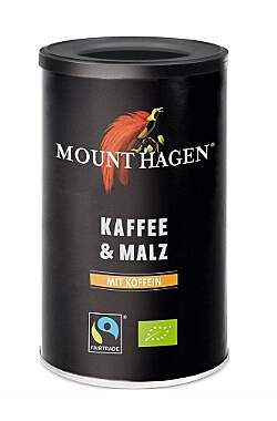 2er Pack Mount Hagen Bio Kaffee & Malz - 100g