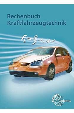 Rechenbuch Kraftfahrzeugtechnik - Mängelartikel