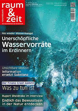Raum & Zeit Nr. 215 Ausgabe September/Oktober 2018_small