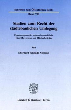Studien zum Recht der städtebaulichen Umlegung - Mängelartikel