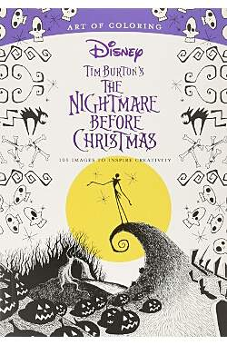 Art of Coloring: Tim Burton's The Nightmare Before Christmas - Mängelartikel