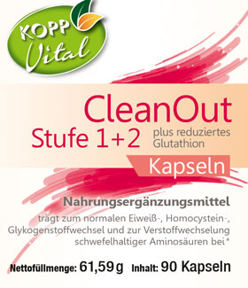 Kopp Vital CleanOut Stufe 1 + 2 plus reduziertes Glutathion, Kapseln - vegan_small01