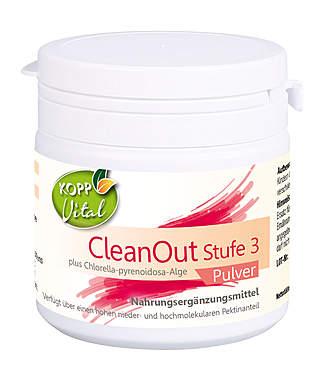 Kopp Vital CleanOut Stufe 3 plus Chlorella-pyrenoidosa-Alge Pulver - vegan
