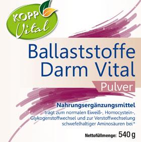 Kopp Vital Ballaststoffe Darm Vital Pulver - vegan_small01
