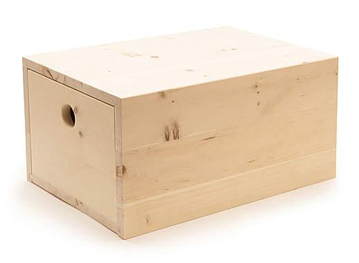 Zirbenwerkstatt Zirbenbrotbox klein - Mängelartikel