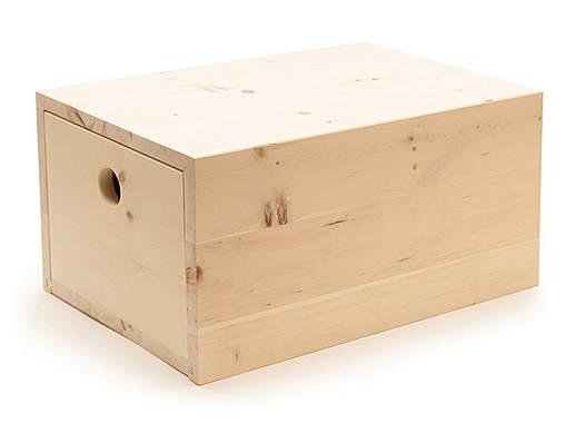 Zirbenwerkstatt Zirbenbrotbox groß - Mängelartikel