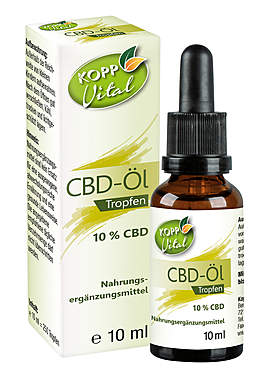 Kopp Vital CBD-Öl Tropfen