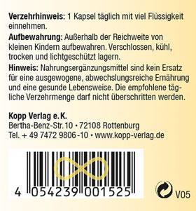 Kopp Vital Vitamin-B-Komplex, Kapseln - vegan_small03