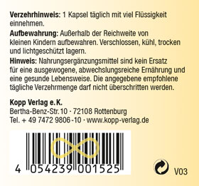 Kopp Vital Vitamin-B-Komplex Kapseln - vegan_small04