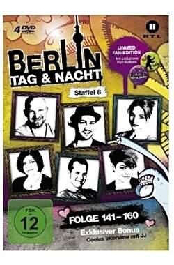 Berlin - Tag & Nacht, 4 DVDs (Fan Edition) Staffel.8 - Mängelartikel