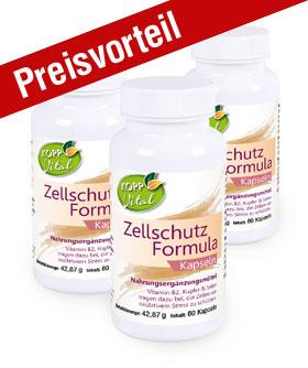3er-Pack Kopp Vital Zellschutz Formula Kapseln