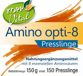 Kopp Vital Amino Opti-8 Presslinge - vegan_small01
