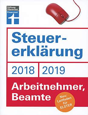 Steuererklärung 2018/2019 Arbeitnehmer, Beamte_small