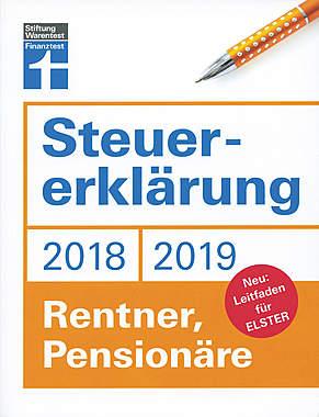 Steuererklärung 2018/2019 - Rentner, Pensionäre - Mängelartikel