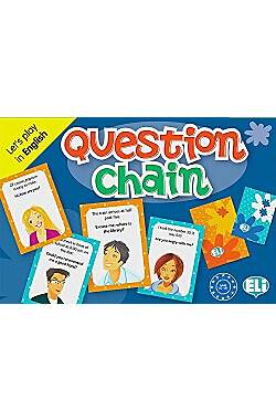 Question Chain - Let´s play in English - Mängelartikel