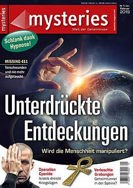 mysteries Ausgabe Nr.1Januar/Februar 2019_small