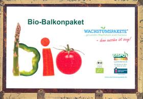 Saatgutpaket Bio-Balkon-Koffer