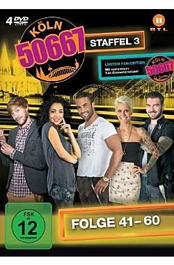 Köln 50667 - Staffel 3 (Folge 41-60) - Mängelartikel