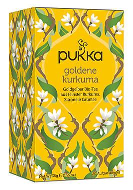Pukka Goldener Kurkuma Tee
