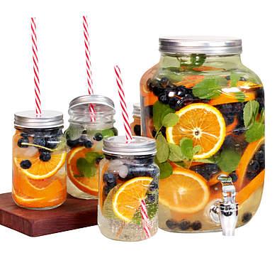 Getränkespender mit 4 Glaskrügen_small