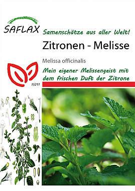 Mein Heilpflanzengarten - Zitronen-Melisse_small
