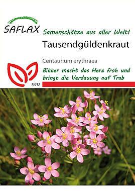 Mein Heilpflanzengarten - Tausendgüldenkraut_small