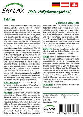 Mein Heilpflanzengarten - Baldrian_small01