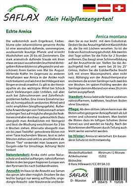 Mein Heilpflanzengarten - Echte Arnica_small01