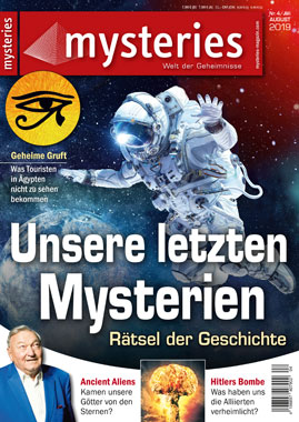 mysteries - Ausgabe Juli/August 2019