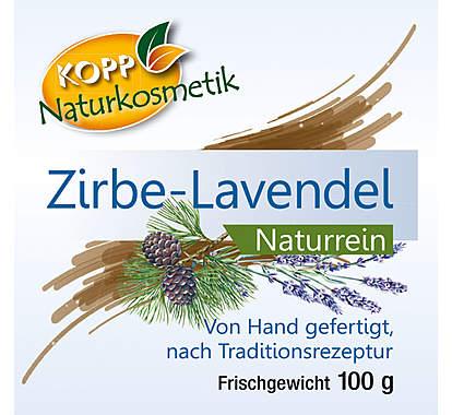 Kopp Naturkosmetik Zirben-Lavendelseife Frischegewicht 100g_small02