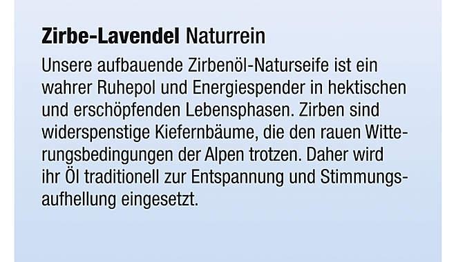 Kopp Naturkosmetik Zirben-Lavendelseife Frischegewicht 100g_small04