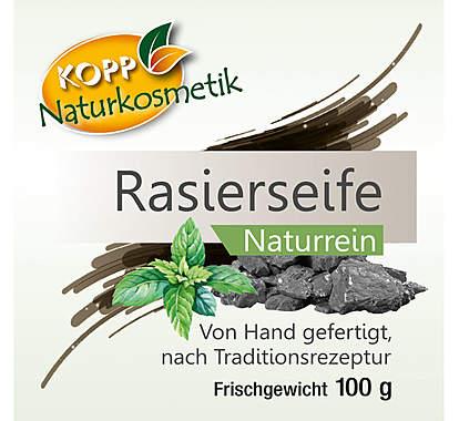 Kopp Naturkosmetik Rasierseife Frischegewicht 100g_small02
