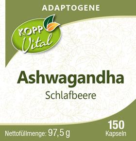 Kopp Vital Adaptogen Ashwagandha (Schlafbeere) Kapseln_small01