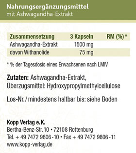 Kopp Vital Adaptogen Ashwagandha (Schlafbeere) Kapseln_small03