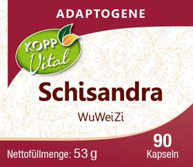 Kopp Vital Adaptogen Schisandra (Wu Wei Zi) Kapseln_small01