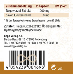 Kopp Vital Eleutherococcus (Taigawurzel) Kapseln_small02