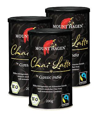 3er Pack Mount Hagen Bio Chai Classic India