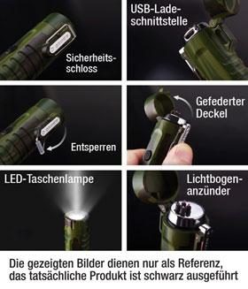 Outdoor-Lichtbogenanzünder mit Taschenlampe_small01