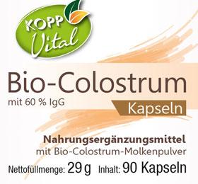 Kopp Vital Bio Colostrum Kapseln_small01