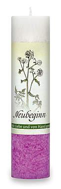 Allgäuer Heilkräuter-Kerze »Neubeginn«_small