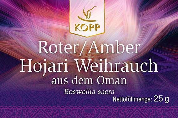 Roter/Amber Hojari Weihrauch aus dem Oman_small01