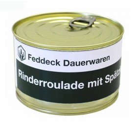 Vollkonserve Rinderroulade mit Nudeln - 400 g_small