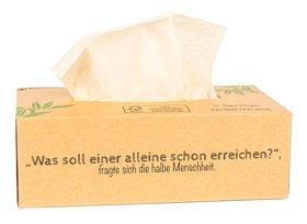 2er Pack Pandoo Bambus Taschentücher 3-lagig - 100 Stück_small