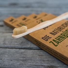 4er Pack Pandoo natürliche Zahnbürsten aus Bambus_small01