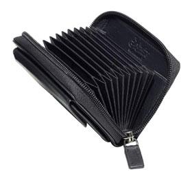 Esquire RFID Reißverschluß-Kreditkartenetui 301849 00_small